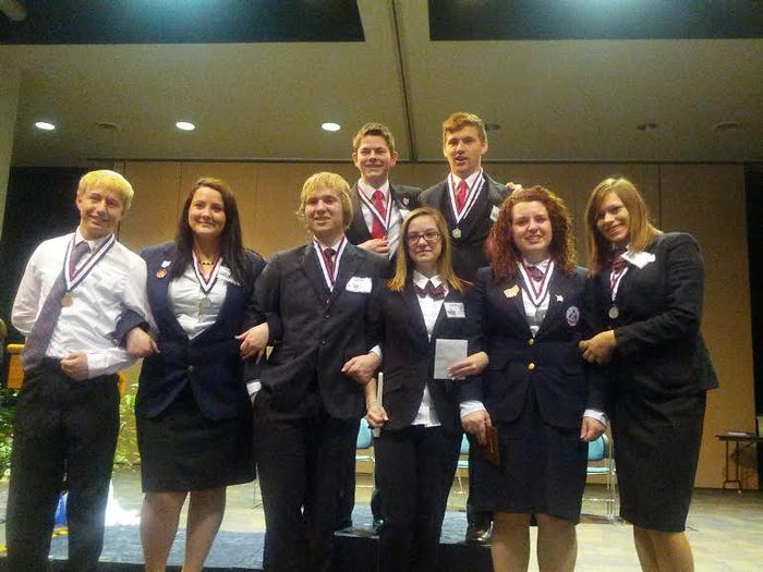 OHP HOSA main campus students